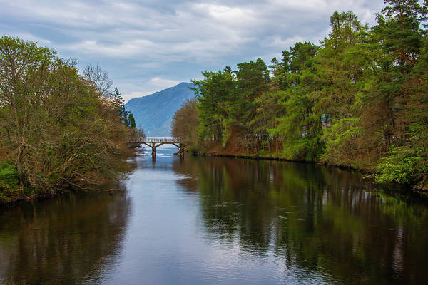 Wall Art - Photograph - April In Loch Ness Scotland by Bill Cannon