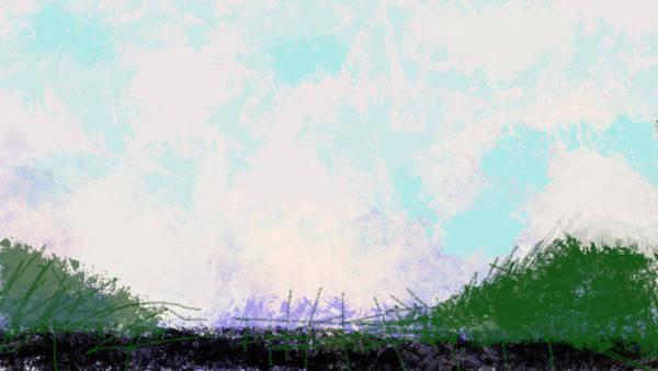 Drawing - April Landscape  by Paul Sutcliffe