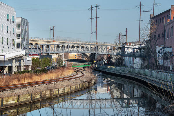 Photograph - April On The Manayunk Canal by Bill Cannon