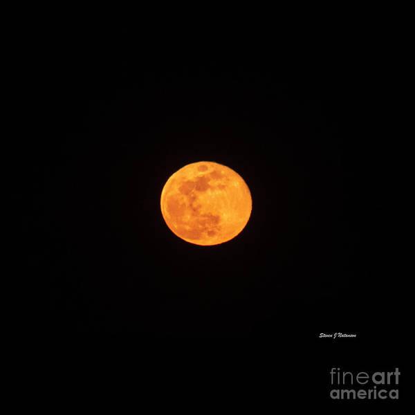 Photograph - April Pink Moon by Steven Natanson