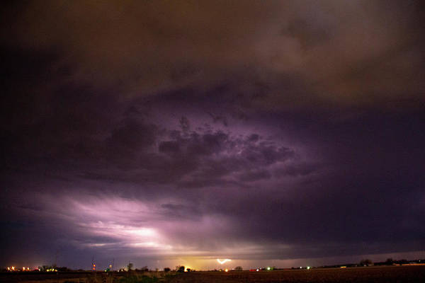 Photograph - April Thunderstorm Eye Candy 004 by Dale Kaminski