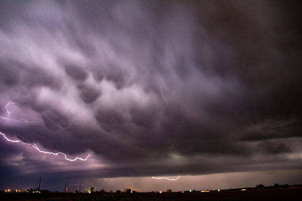 Photograph - April Thunderstorm Eye Candy 006 by Dale Kaminski