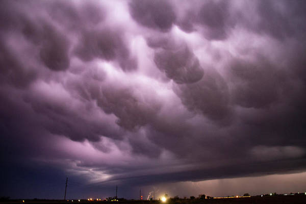 Photograph - April Thunderstorm Eye Candy 009 by Dale Kaminski