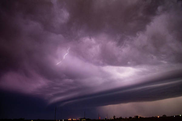 Photograph - April Thunderstorm Eye Candy 018 by Dale Kaminski