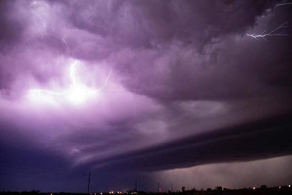 Photograph - April Thunderstorm Eye Candy 019 by Dale Kaminski