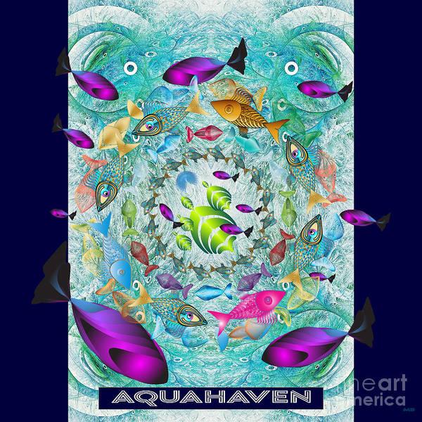 Digital Art - Aquahaven-3 by Doug Morgan