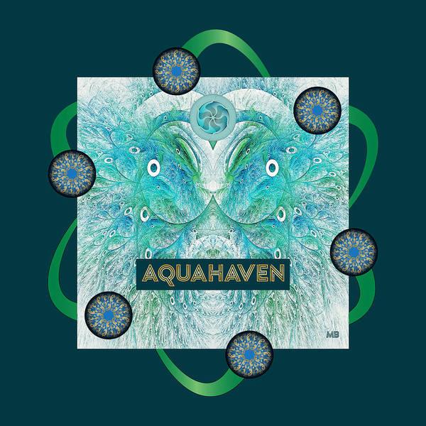 Digital Art - Aquahaven Mb by Doug Morgan