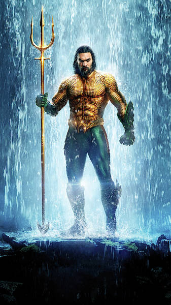 Wall Art - Digital Art - Aquaman by Geek N Rock