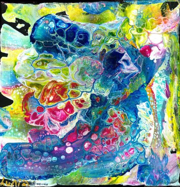 Painting - Aquarius Flowers by Angelika GAIGL