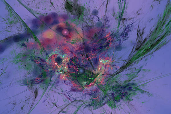 Digital Art - Aquarius by Jeff Iverson