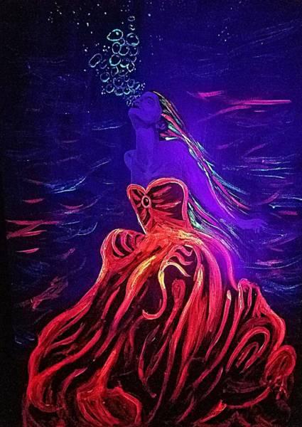 Painting - Aquatic Ball  by Jennah Lenae