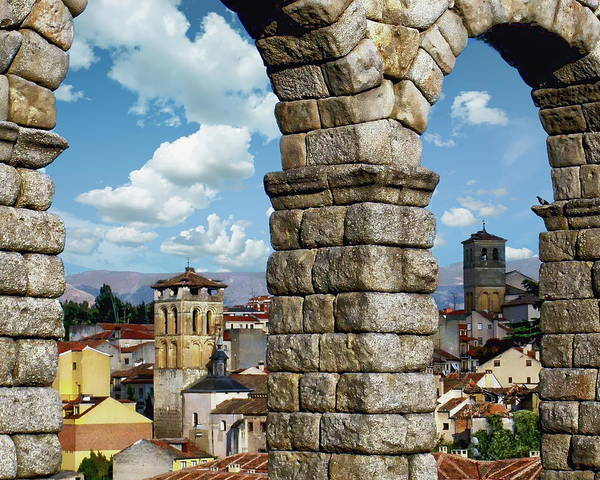 Photograph - Aqueduct Of Segovia by Anthony Dezenzio