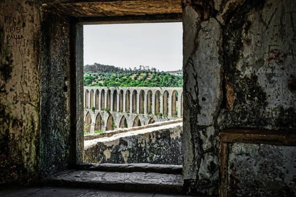 Photograph - Aqueduct View - Portugal by Stuart Litoff