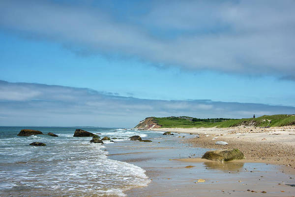 Wall Art - Photograph - Aquinnah And Moshup Beaches On Martha's Vineyard by Brendan Reals