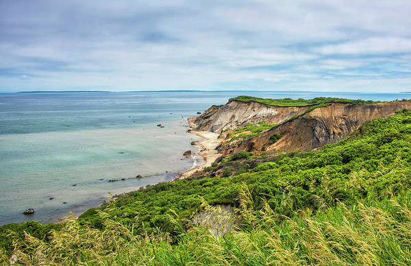 Wall Art - Photograph - Aquinnah Cliffs - Martha's Vineyard by Brendan Reals