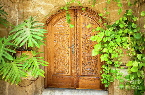 Photograph - Arab Door In Jaffa Tel Aviv by John Rizzuto