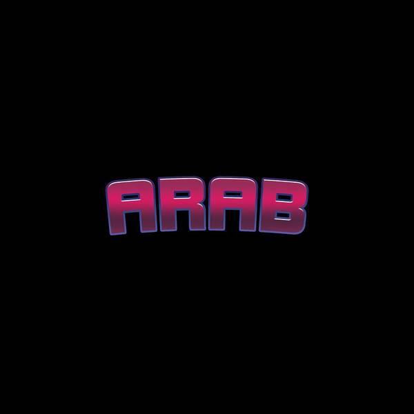 Arab Digital Art - Arab by Tinto Designs