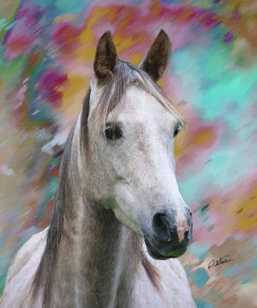 Painting - Arabian Horse Dwp1001805 by Dean Wittle