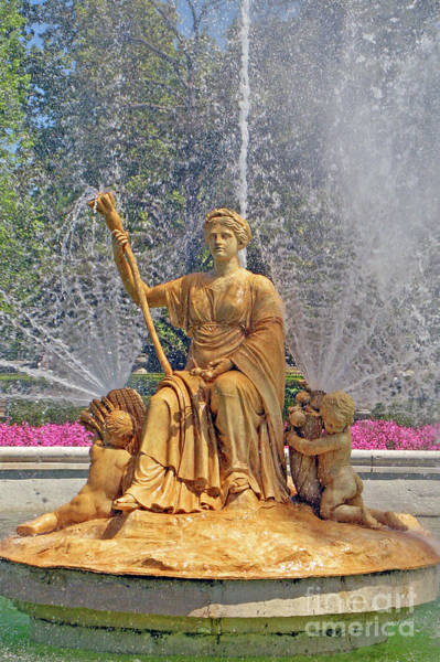 Wall Art - Photograph - Aranjuez Ceres Fountain Up Close by Nieves Nitta