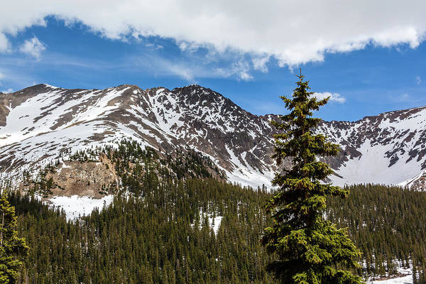 Photograph - Arapahoe Basin, Loveland Pass by Jeanette Fellows