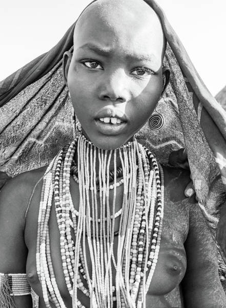 Photograph - Arbore Girl 5 by Mache Del Campo