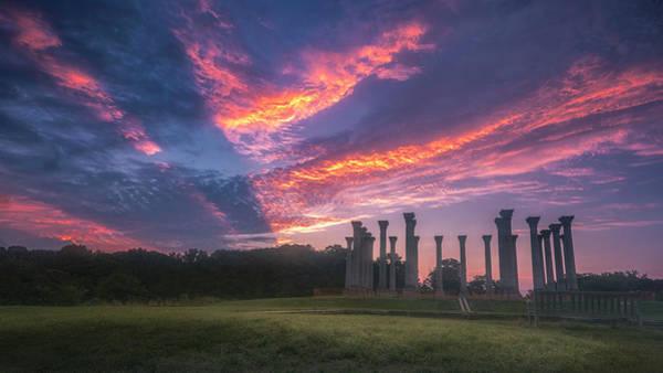 Wall Art - Photograph - Arboretum Sunrise by Robert Fawcett