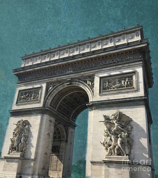 Wall Art - Photograph - Arc De Triomphe by Luther Fine Art