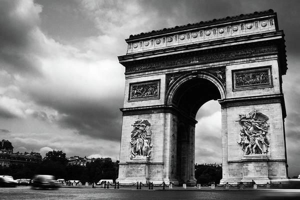 Wall Art - Photograph - Arc De Triomphe by Matthew Crowley Photography