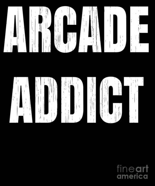 Pinball Digital Art - Arcade Machine Gift For Gamers And Lovers Of Pinball Machines Arcade Games And Amusement Halls by Martin Hicks