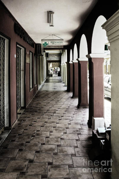 Wall Art - Photograph - Arcade, Zante Town by John Edwards
