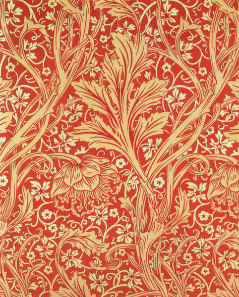 Wall Art - Painting - Arcadia - Digital Remastered Edition by William Morris