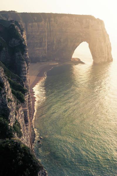 Etretat Photograph - Arch by © Philippe Lejeanvre