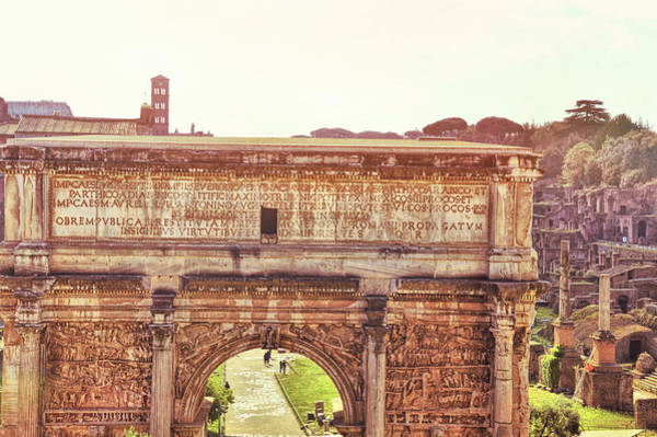 Photograph - Arch Of Septimus Severus by JAMART Photography