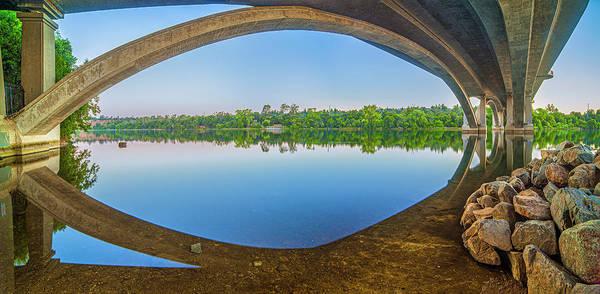 Photograph - Arch Reflection by Jonathan Hansen