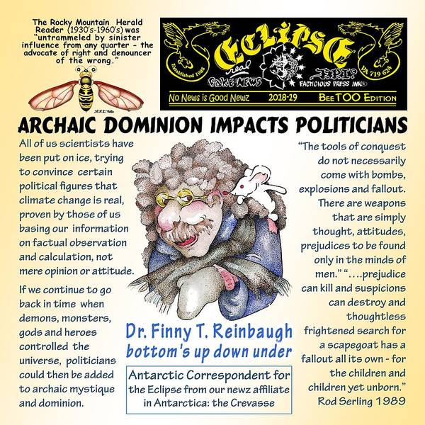 Digital Art - Archaic Dominion Impacts Politicians by Dawn Sperry