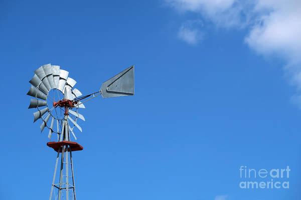 Photograph - Archaic Wind Power by Ann Horn