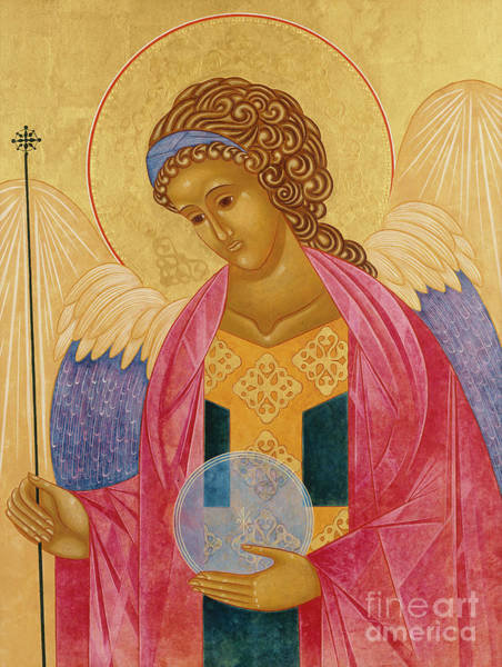 Wall Art - Painting - Archangel Michael by Jodi Simmons
