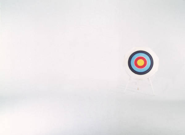 Photograph - Archery Target by Mike Powell