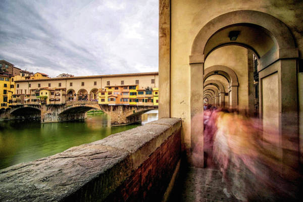 Photograph - Arches Along The Arno River by Matthew Pace