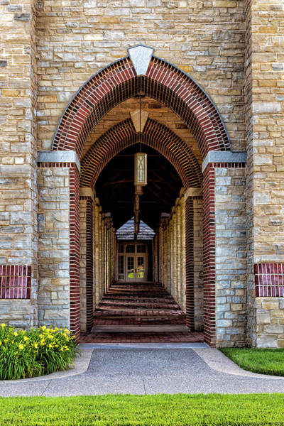 Wall Art - Photograph - Arches At Bryn Athyn College by Denise Harty