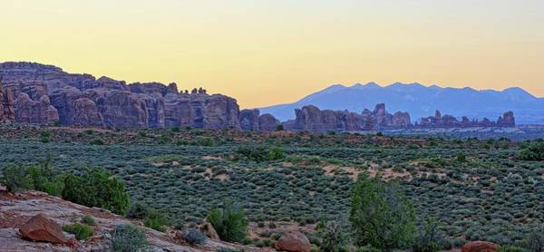 Photograph - Arches National Park At Sunrise by Kyle Lee