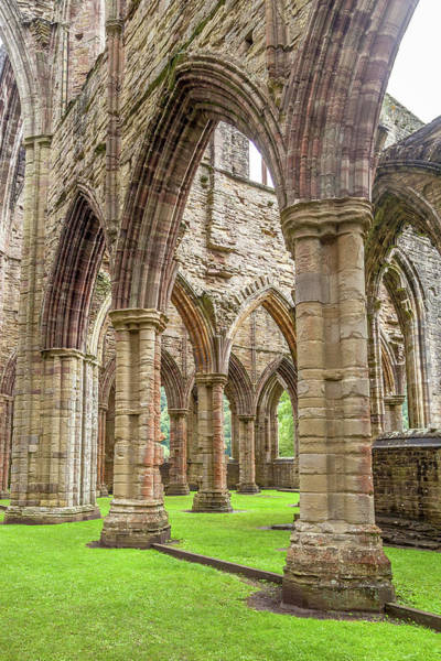 Wall Art - Photograph - Arches Of An Abbey by W Chris Fooshee