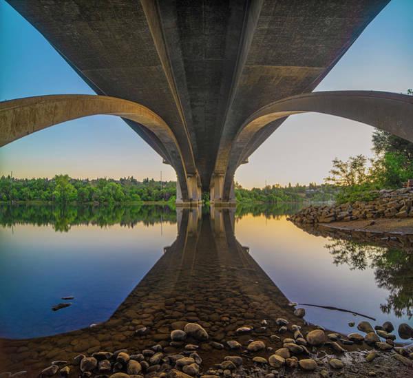 Photograph - Arches Of Lake Natoma Crossing by Jonathan Hansen