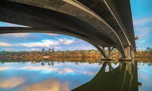 Photograph - Arches Of Lake Natoma by Jonathan Hansen