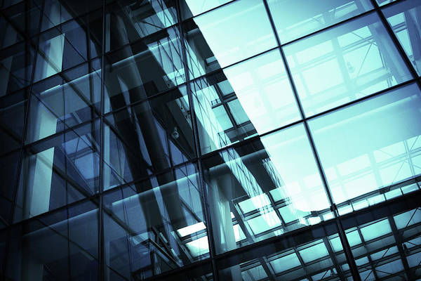 Photograph - Architectural Abstract by Blackred