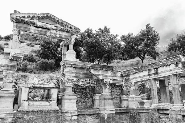 Wall Art - Photograph - Architectural Ruins Of Ephesus by Amy Sorvillo