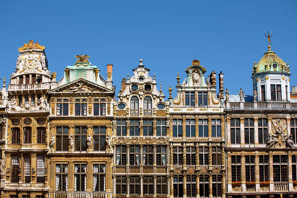Belgian Culture Photograph - Architecture In Brussels by Visions Of Our Land