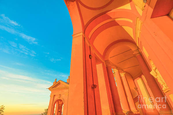 Photograph - Architecture San Luca Bologna by Benny Marty