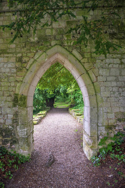 Wall Art - Photograph - Archway, Abbey Of St by Lisa S. Engelbrecht