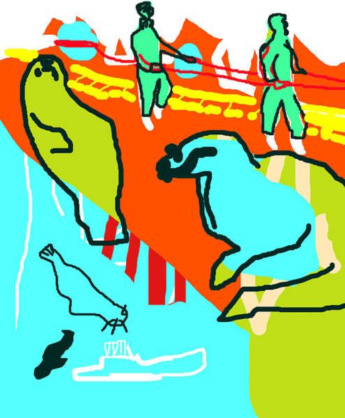 Digital Art - Arctic Development by Artist Dot